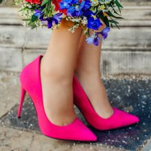 Nice Kicks - Hot Pink Stilettos